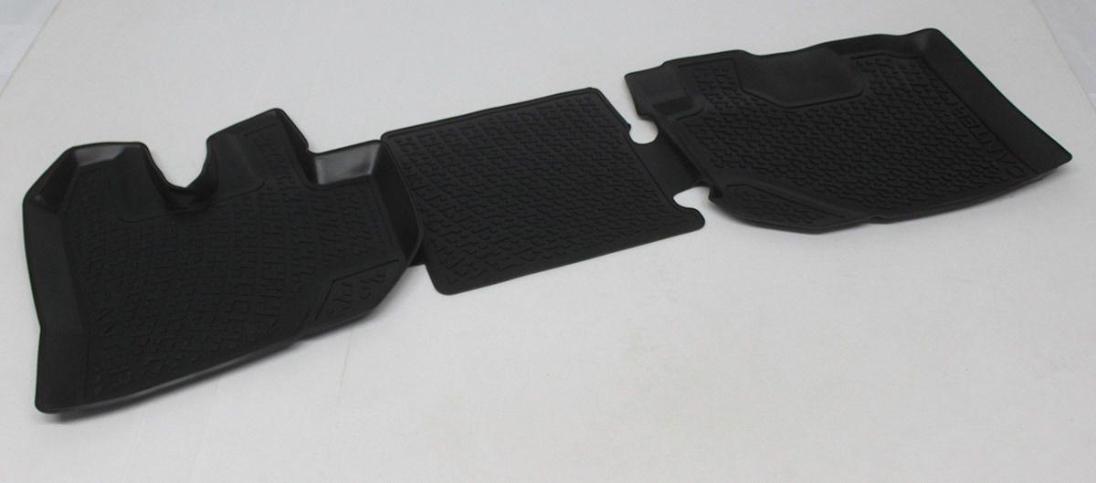 Gumové koberce Mitsubishi Fuso Canter (pouze přední) (10-)  (3D) SIXTOL