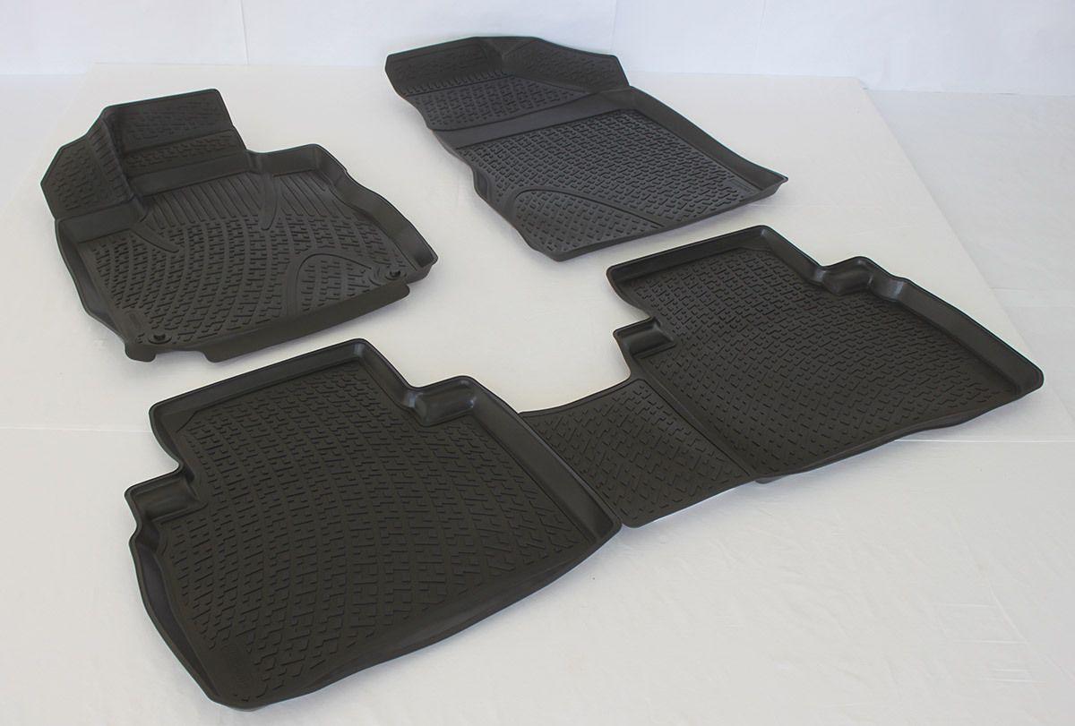 Gumové koberce Nissan Murano II (Z51) (08-14)  (3D) SIXTOL