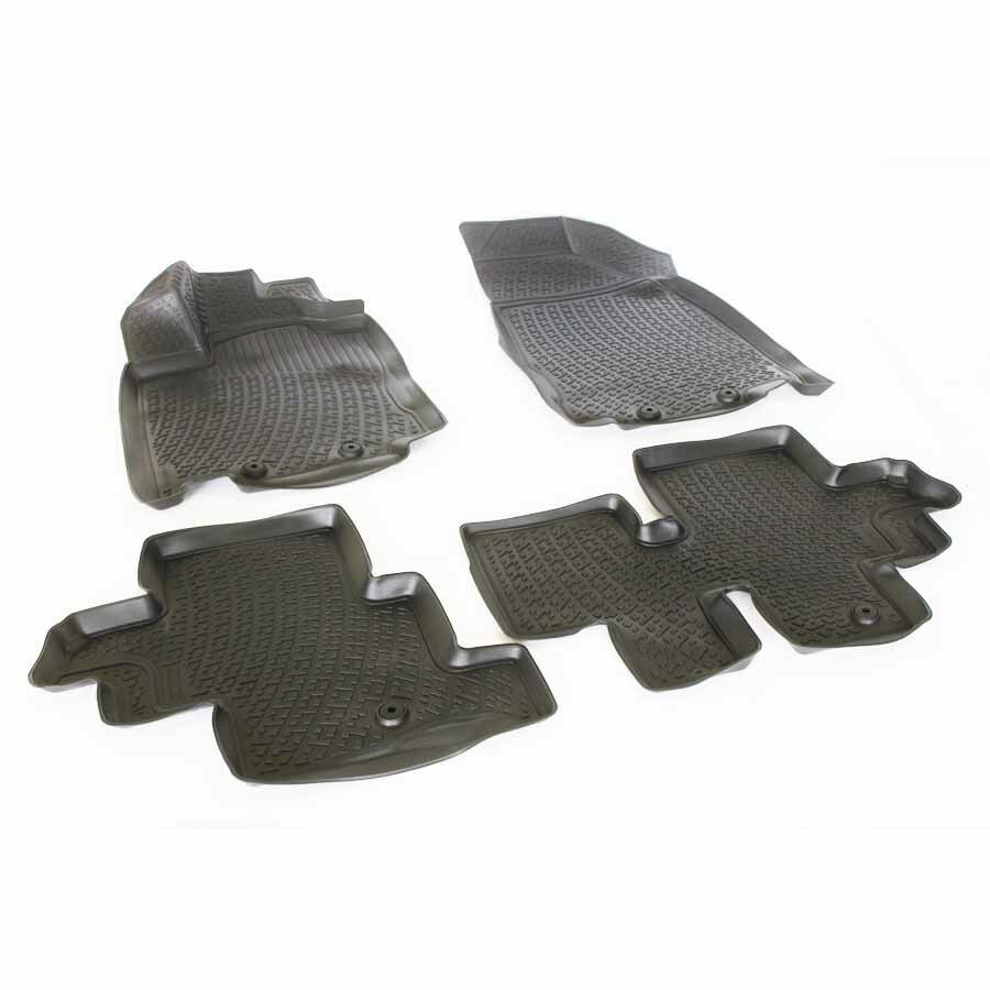 Gumové koberce Nissan Pathfinder IV (R52) (12-)  (3D) SIXTOL