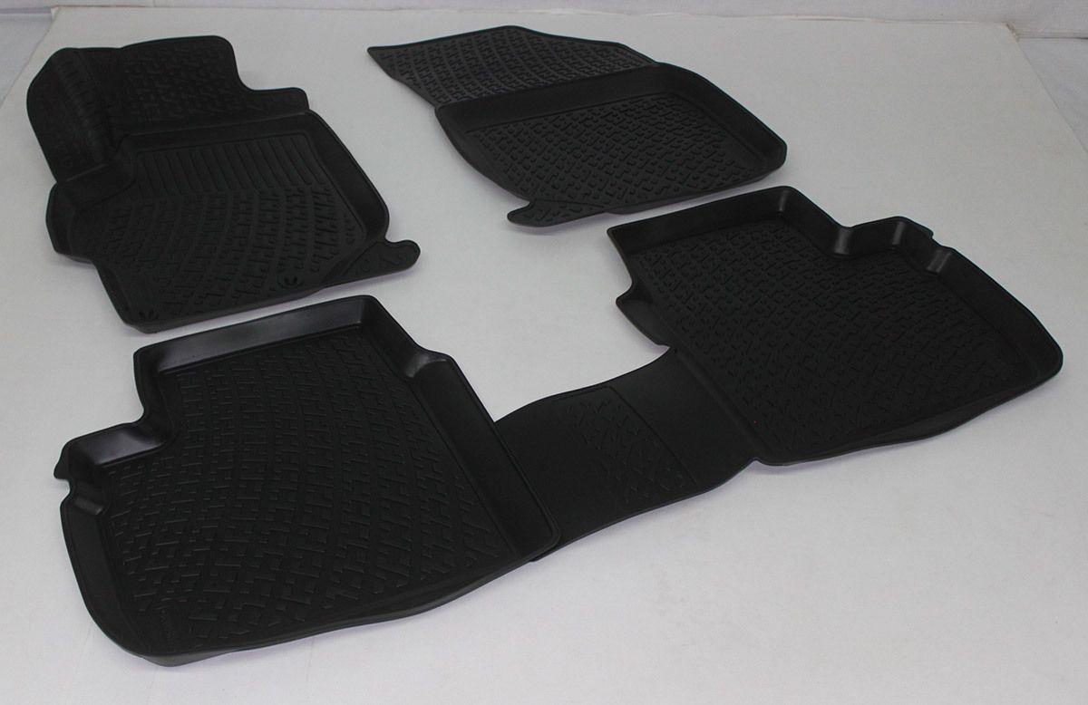 Gumové koberce Peugeot 301 (12-)  (3D) SIXTOL