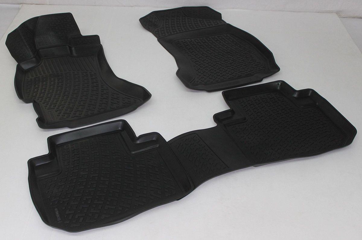 Gumové koberce Subaru Forester IV (SJ) (14-) (3D) SIXTOL