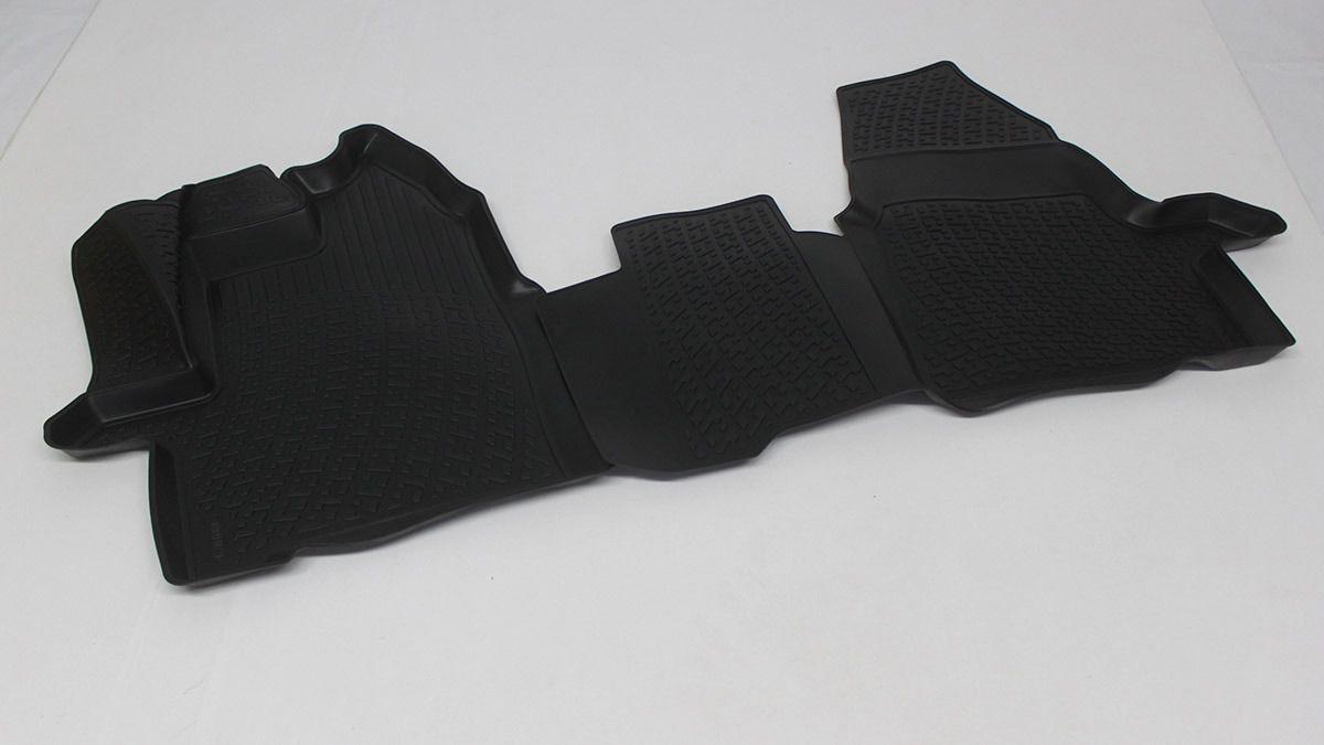 Gumové koberce Ford Transit V Van (pouze přední) (14-) (3D) SIXTOL