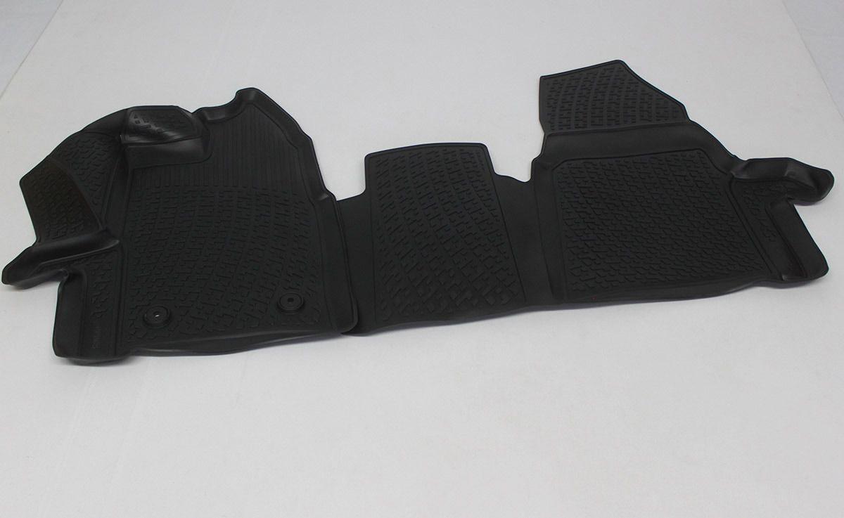 Gumové koberce Ford Tourneo Custom (pouze přední) (12-)  (3D) SIXTOL