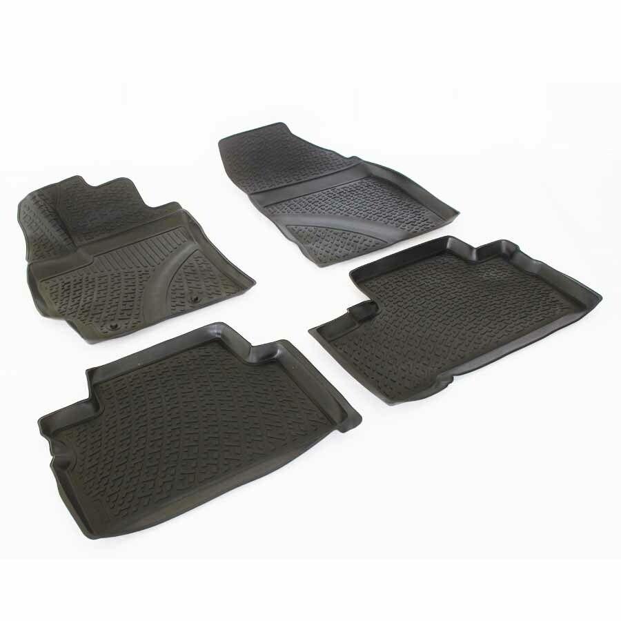 Gumové koberce Toyota Verso Facelift (AR2/R20) (12-)  (3D) SIXTOL