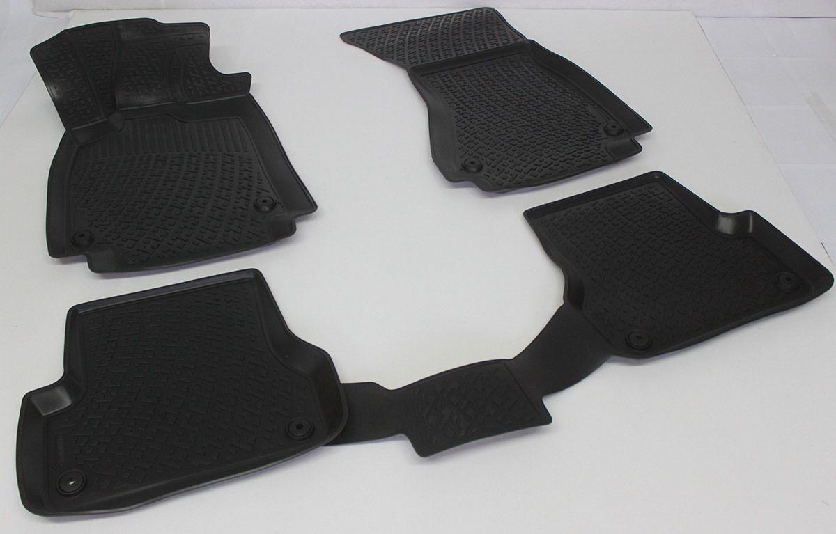 Gumové koberce Audi A6 Limousine / Avant (C7 4G) (11-)  (3D) SIXTOL