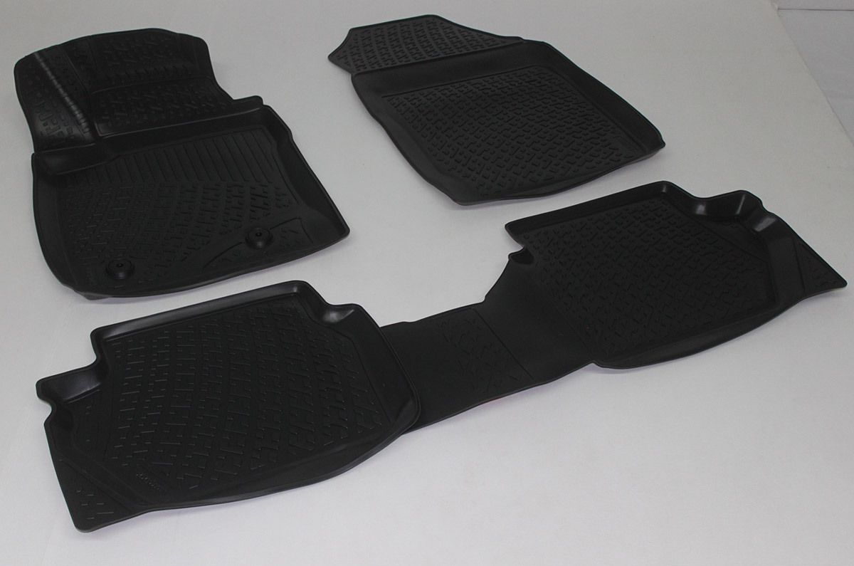 Gumové koberce Ford EcoSport II (12-)  (3D) SIXTOL