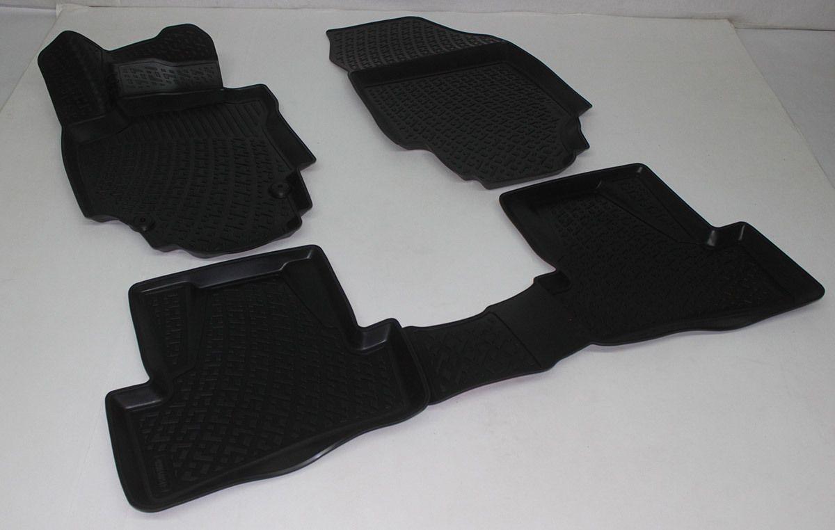 Gumové koberce Renault Captur (13-) (3D) SIXTOL