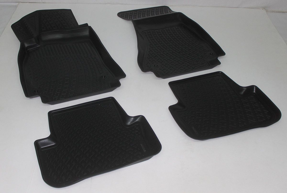 Gumové koberce Audi A5 Facelift Sportback 8T/ Cabrio 8F (09/2009-) SIXTOL