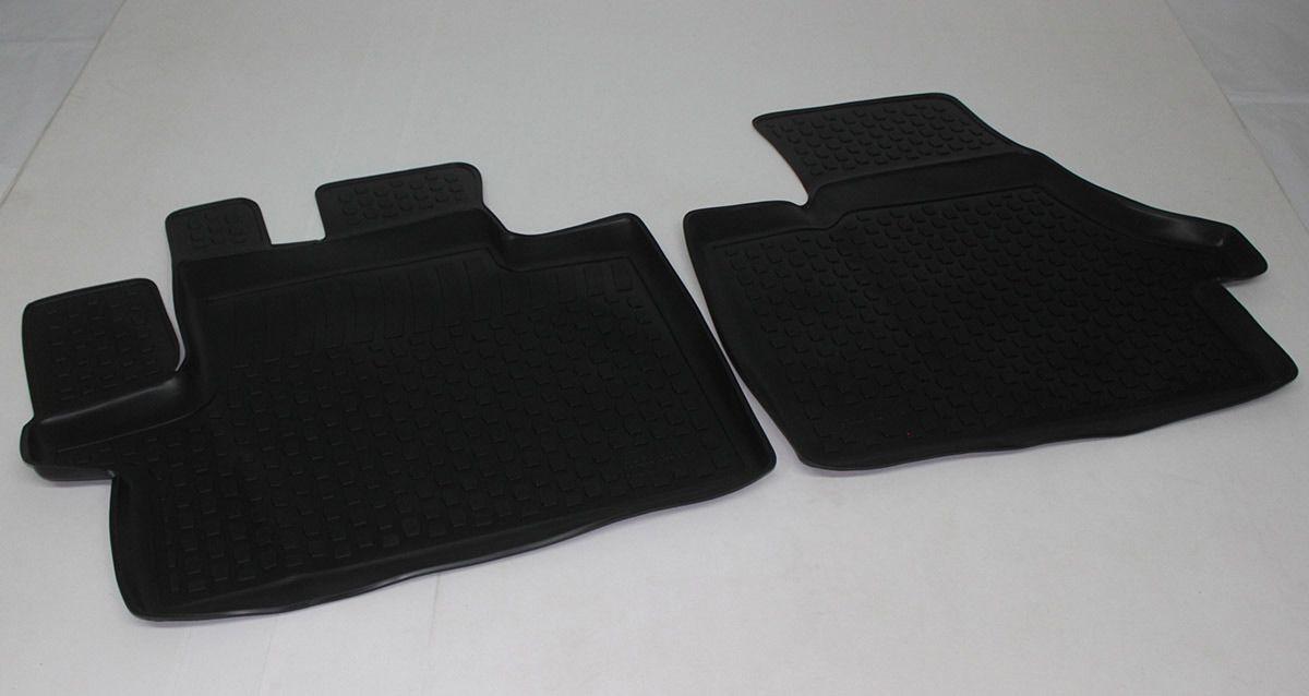 Gumové koberce Peugeot Boxer (06-) (pouze přední) (3D) SIXTOL