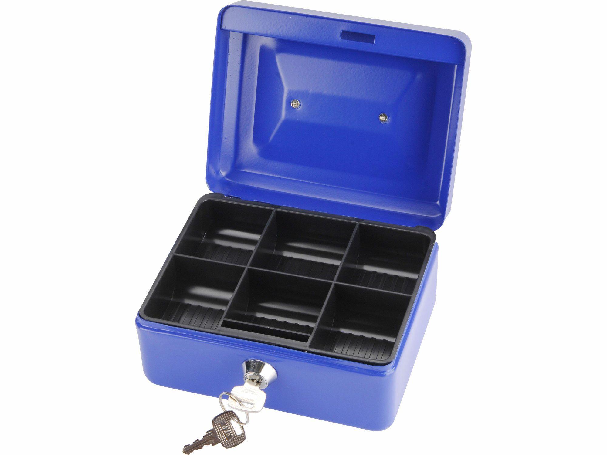 Schránka na peníze přenosná s pořadačem, 152x118x80mm, 2 klíče EXTOL-CRAFT