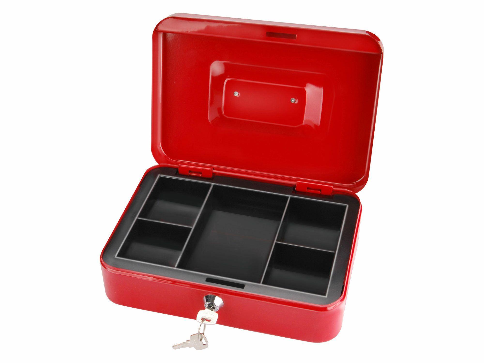 Schránka na peníze přenosná s pořadačem, 250x180x90mm, 2 klíče, EXTOL CRAFT