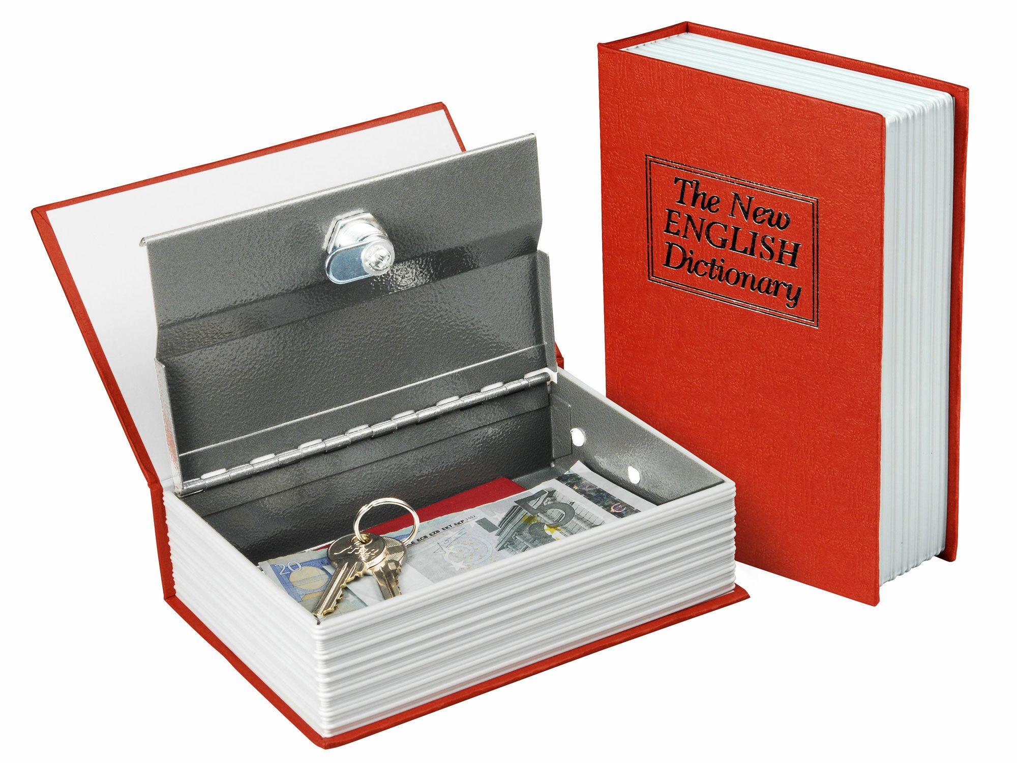 Schránka bezpečnostní - knížka, 180×115×54mm, 2 klíče EXTOL-CRAFT