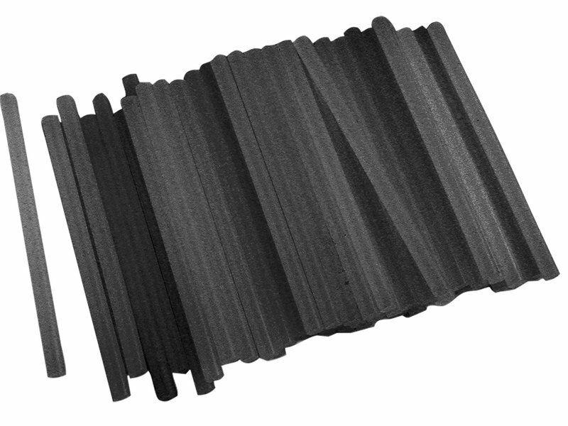 Tyčinky tavné, černá barva, Ř11x200mm, 1kg, EXTOL CRAFT