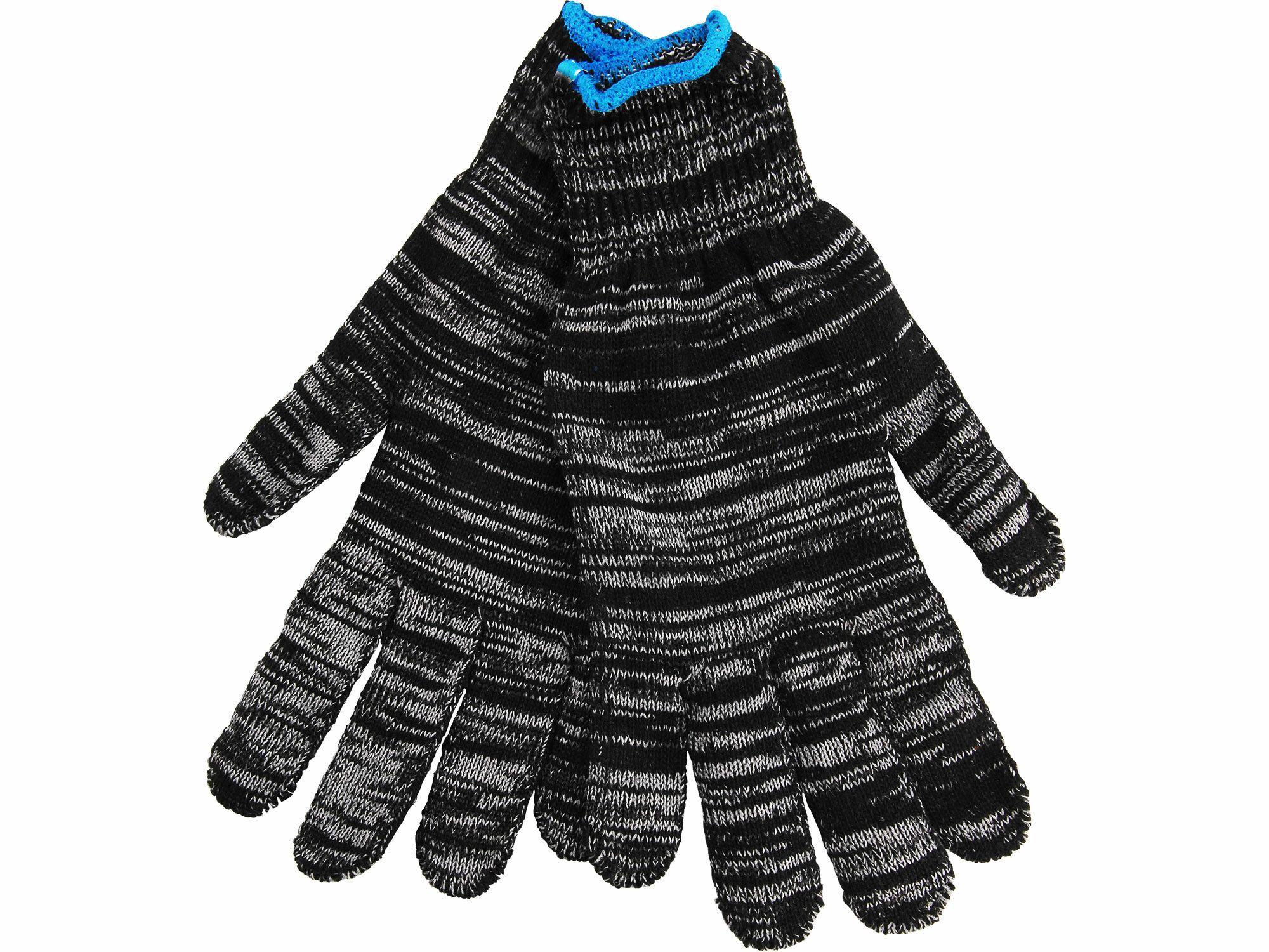 """Rukavice bavlněné dvojbarevné, velikost 10"""", EXTOL CRAFT"""