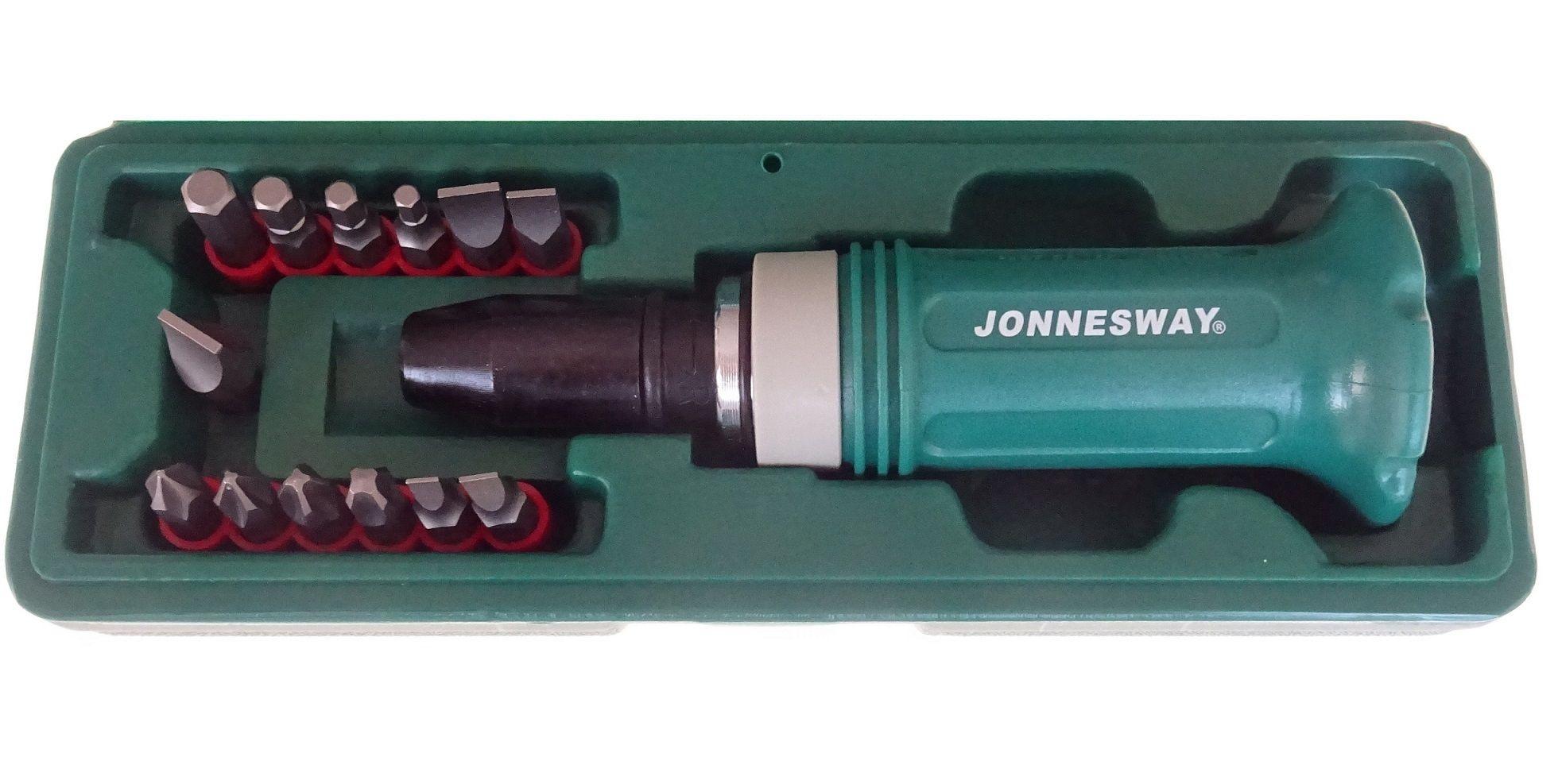 "Úderový / rázový šroubovák s adaptérem 1/2""- JONNESWAY AG010138"