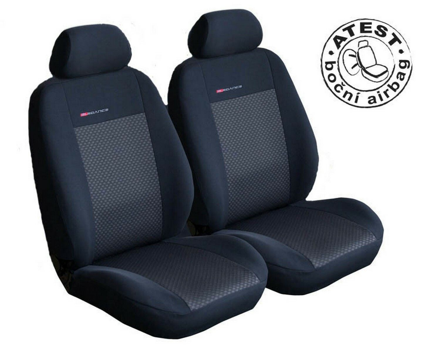 Autopotahy Seat Ibiza II, od r. 1993-2002, černé SIXTOL