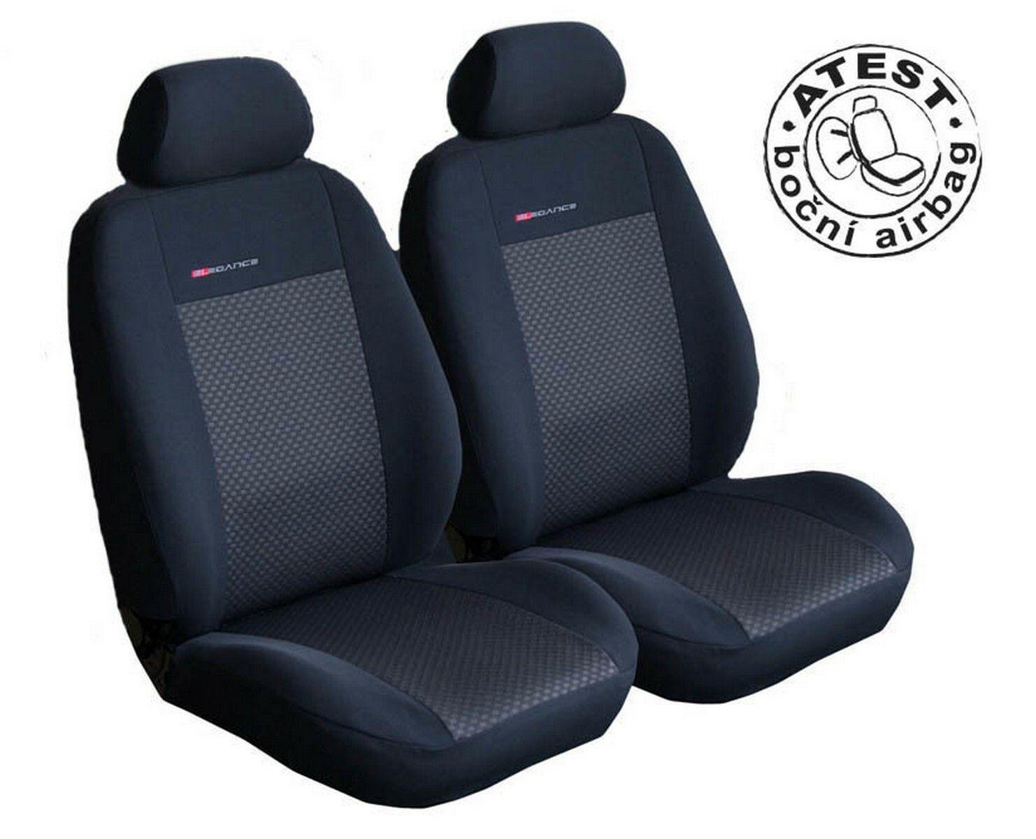 Autopotahy Seat Mii, dělené, od r. 2011, černé SIXTOL