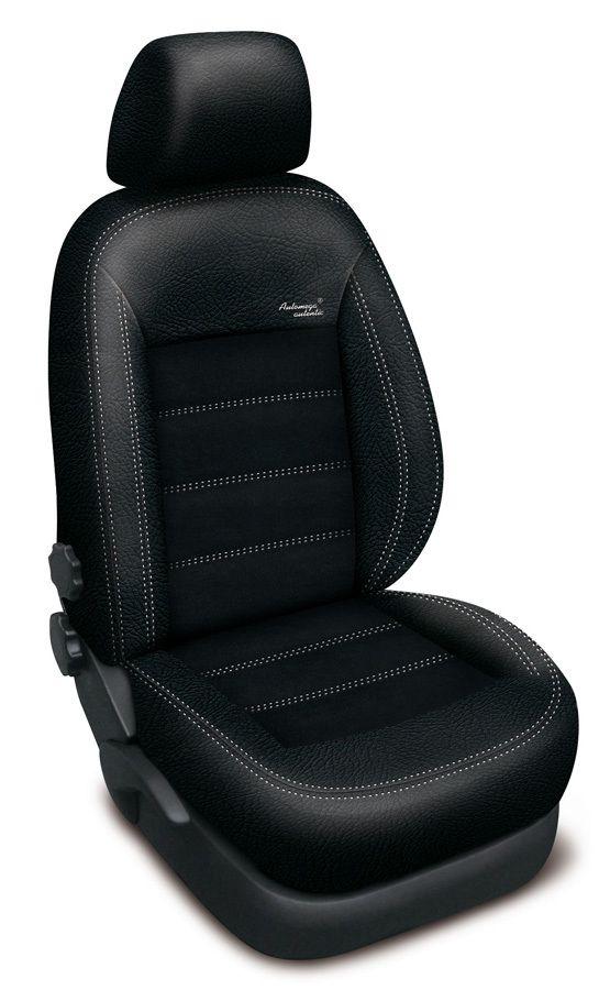 Autopotahy kožené Mazda 5 I, 7 míst, od r. 2005-2010, AUTHENTIC VELVET, černé SIXTOL