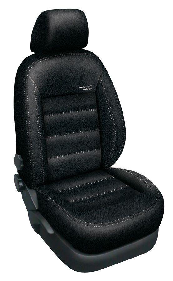 Autopotahy kožené Mazda 5 I, 7 míst, od r. 2005-2010, AUTHENTIC LEATHER, černé SIXTOL