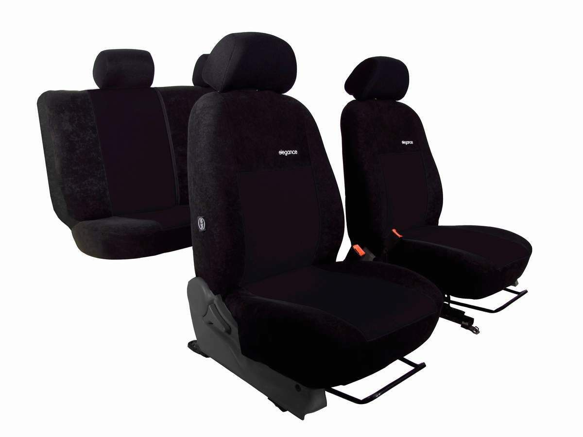 Autopotahy Ford C- MAX, od r. 2003-2010, 5 míst, ELEGANCE ALCANTARA černé