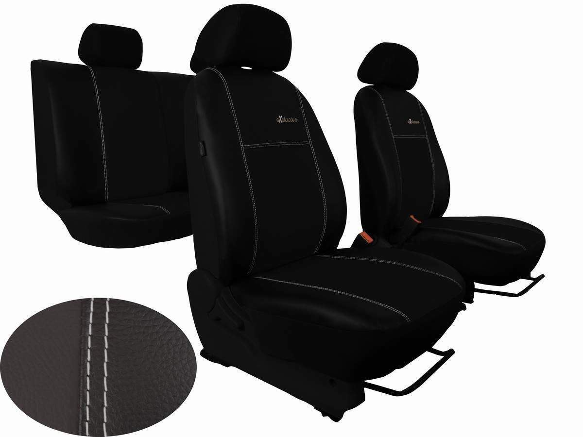 Autopotahy Ford S- MAX, od r. 2006-2010, 5 míst, kožené EXCLUSIVE černé SIXTOL