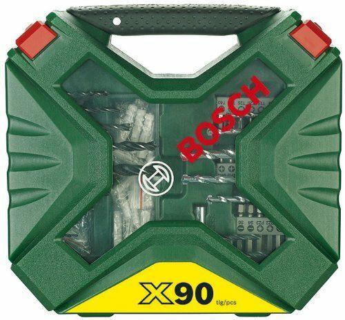 Sada bitů Bosch 90dílná vrtáků a šroubovacích X-Line Classic, 2607010613
