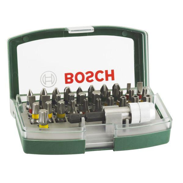 Sada Bosch šroubovacích bitů s barevným odlišením, 32 dílná, 2607017063