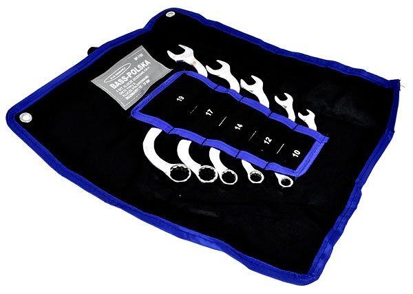Klíče typu S, sada 5ks, 10-12-14-17-19, BASS