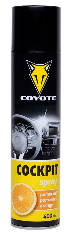 COYOTE Cockpit spray Pomeranč 400 ml