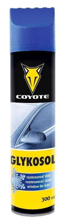 COYOTE Glykosol aerosol rozmrazovač skel se škrabkou 300 ml