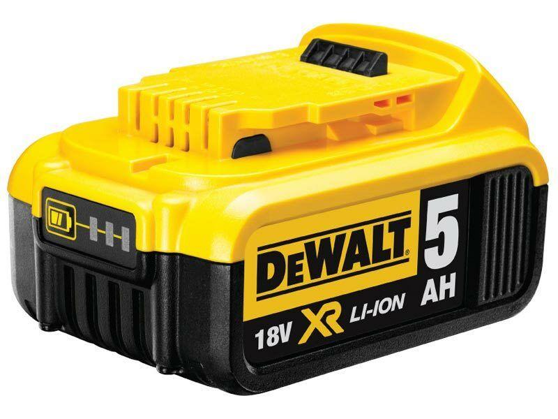 DeWalt DCB184 Zásuvný akumulátor 18 V XR Li-Ion 5,0 Ah - originální