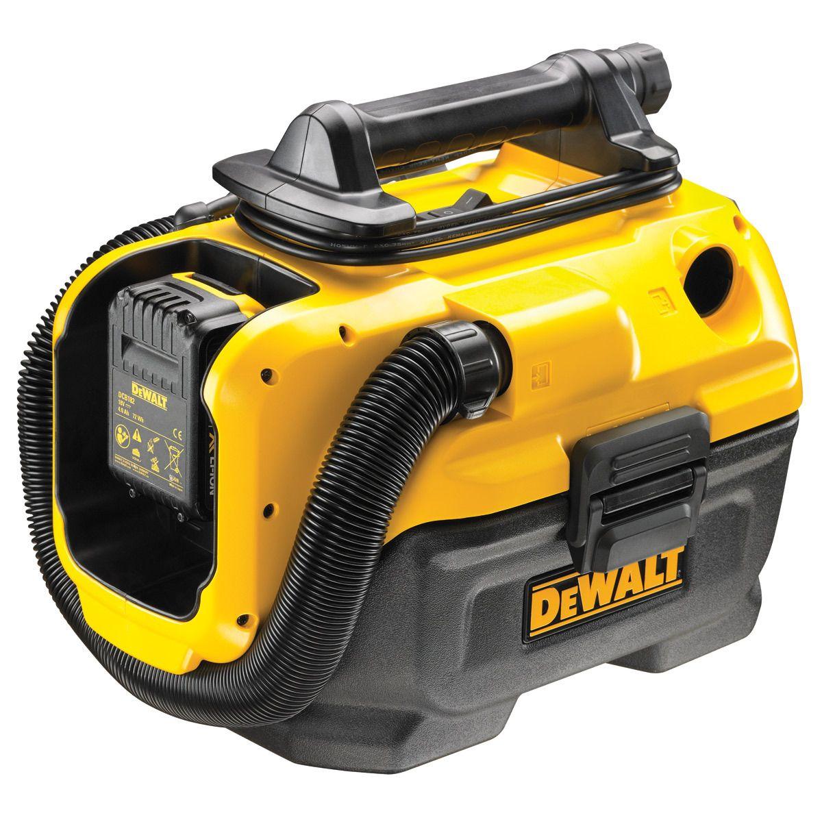 DeWALT DCV582 Aku vysavač na mokré a suché vysávání