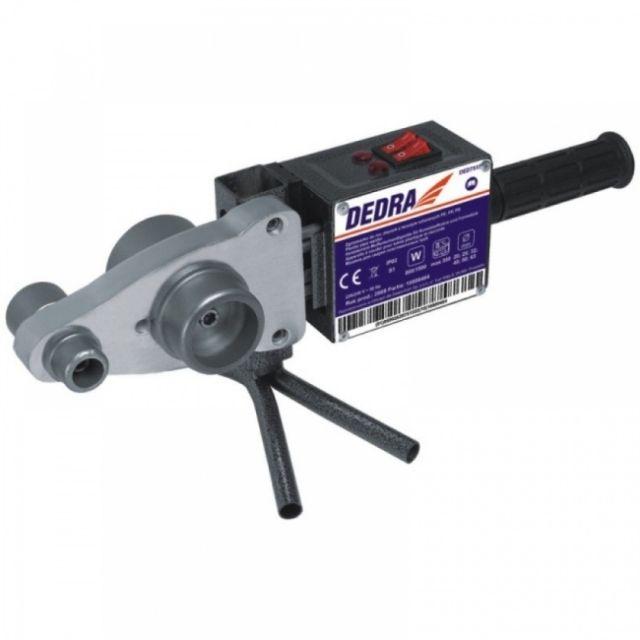 Svářečka trubek z umělých hmot, DEDRA, PVC, PE, PP,PB 800W/1500W, k