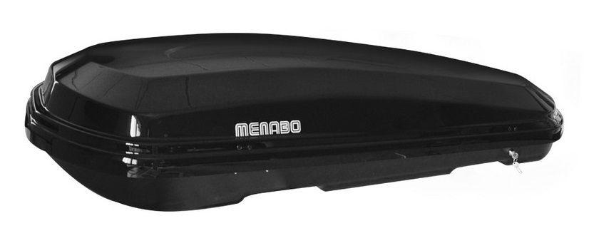 Střešní box Diamond 450LT černý, MENABO