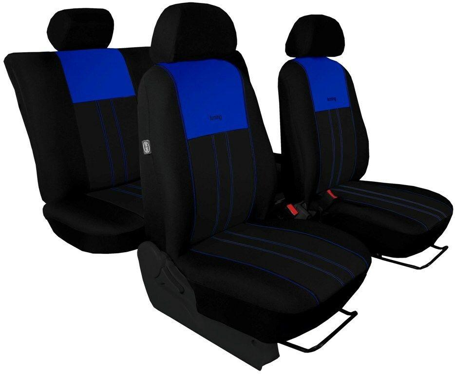 Autopotahy Ford C- MAX I, od r. 2003-2010, 5 míst, DUO TUNING modročerné SIXTOL