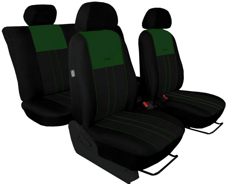Autopotahy Ford C- MAX I, od r. 2003-2010, 5 míst, DUO TUNING zelenočerné SIXTOL
