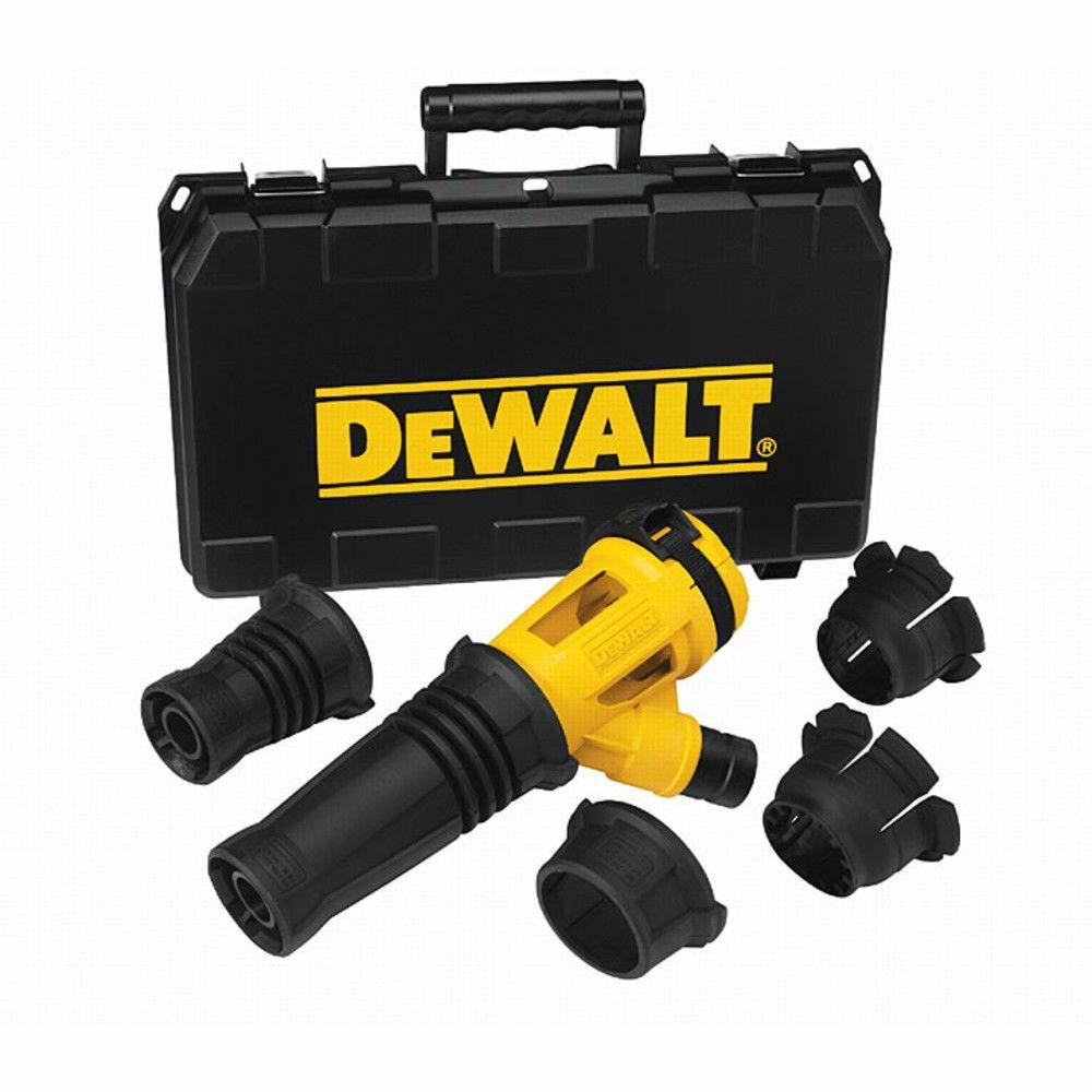 Odsávání prachu při odsekávacích a bouracích pracích DeWalt