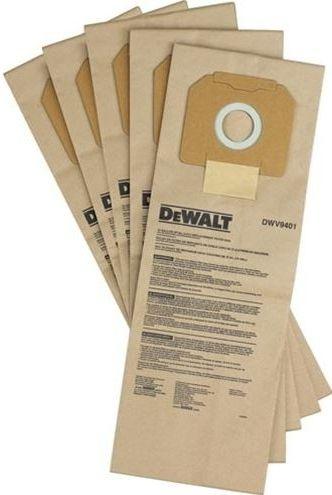 Papírový pytlík na prach 5ks pro vysavač DWV902L/M DeWALT