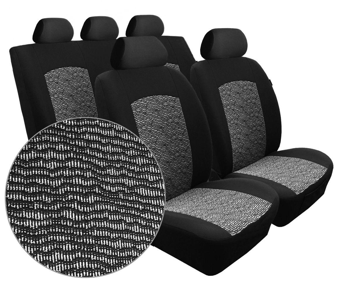 Autopotahy Seat Alhambra, od r. 1994-2010, 5 míst, Dynamic melír SIXTOL