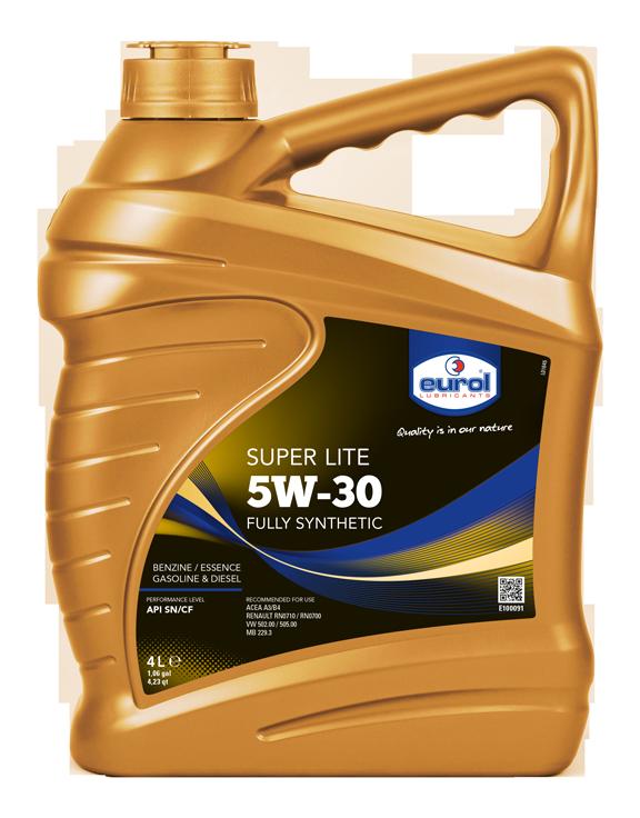 Motorový olej Eurol Super Lite 5W-30 4l