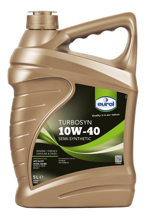 Motorový olej Eurol Turbosyn 10W-40 5l