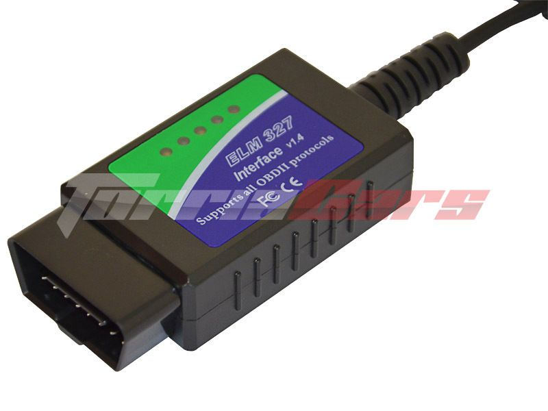 ELM 327 USB  program TouchScan CZ SIXTOL