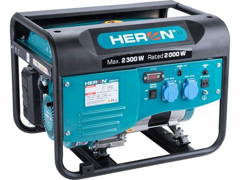 Elektrocentrála benzínová 2,3kW/5,5HP HERON