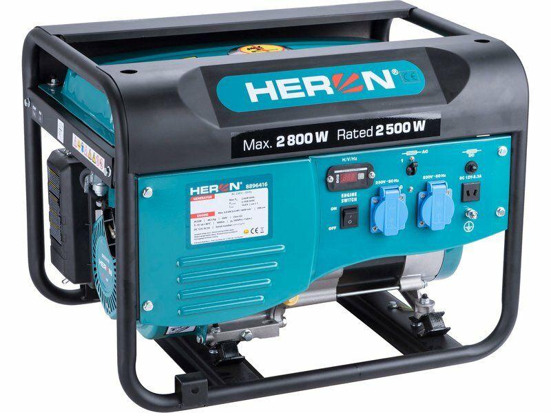 Elektrocentrála benzínová 2,8kW/6,5HP HERON