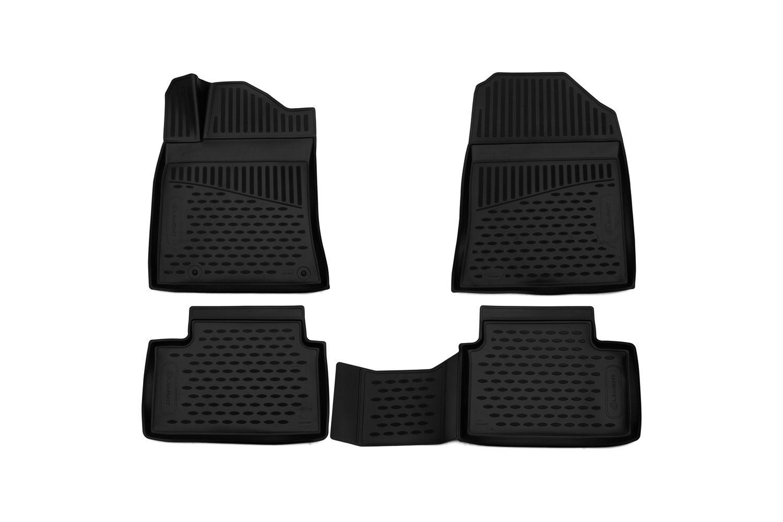 3D Gumové koberce KIA Ceed, 2018->, hatchback SIXTOL