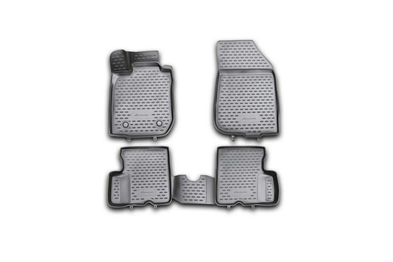 3D Gumové koberce RENAULT Duster 2WD, 2011-2015 SIXTOL