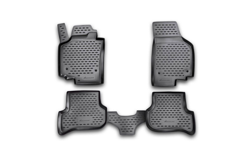 Gumové koberce SEAT Altea Freetrack, 2007-2009 SIXTOL