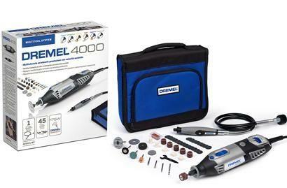 Univerzální nářadí DREMEL 4000 Series, 45 ks příslušenství, textilní taška, F0134000JC