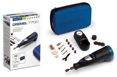 Aku univerzální nářadí DREMEL 7700 Series, 30 ks příslušenství, brašna, F0137700JC