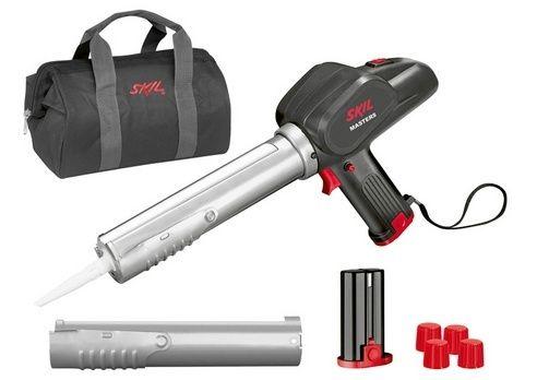 Aku těsnicí pistole Skil Masters 2055 MA, 2x akumulátor 4,8 V, nabíječka, F0152055MA